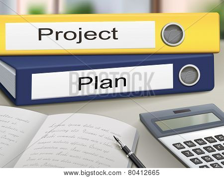Project And Plan Binders