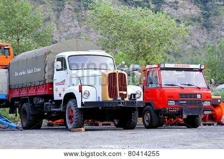 Swiss Trucks Saurer And Reform