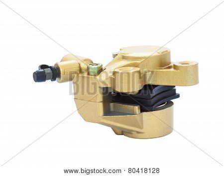 Isolated Pump Brake On White