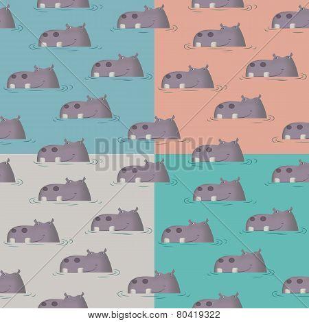 Hippo Four Tone