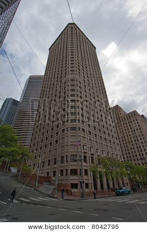 Tall Corner Building
