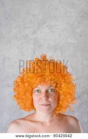Orange Wig