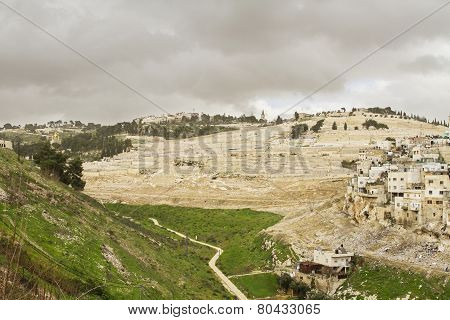 Kidron Valley. Jerusalem
