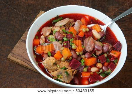 Vietnamese Food, Vegetable Soup