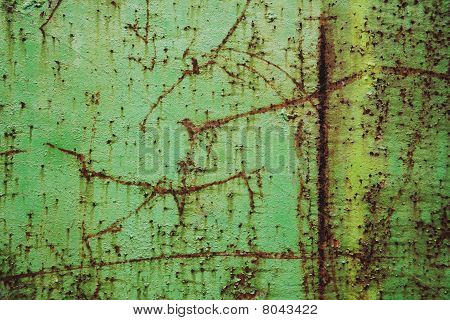 Rusted Metal Sheet