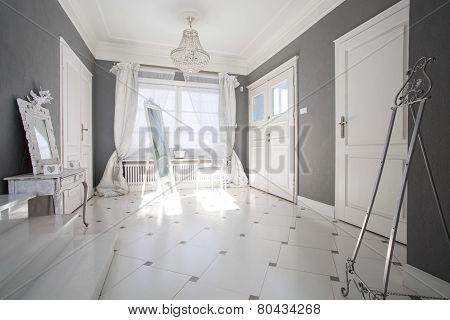 Crystal Pendant In Luxury Interior