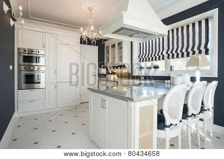 Beauty Kitchen With White Furniture