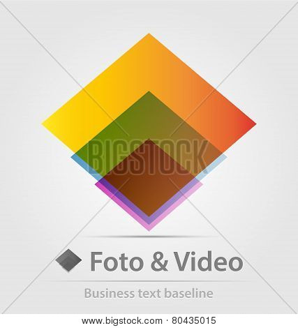 Foto And Video Business Icon