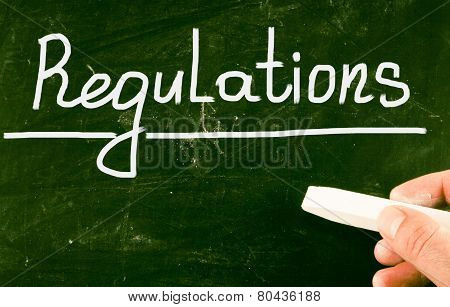Regulations Concept