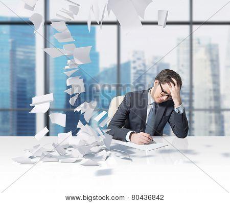 Man Working