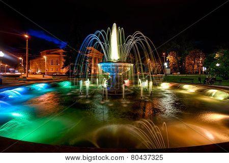 Fountain Near The Dramatic Theater, Kaliningrad, 10.05.2014