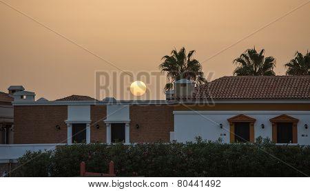 Sunrise In A Haze