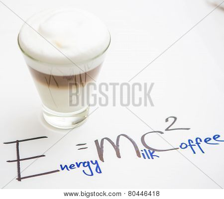 Cup Of Coffee. Formula Coffee