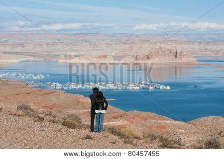Lake Powell vista