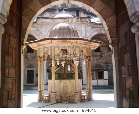 Old Fountain of the Mosque