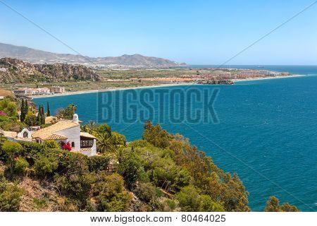 Mediterranean Sea in Andalusia, Spain