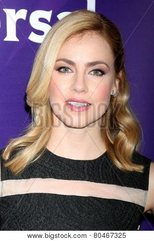 LOS ANGELES - JAN 15:  Amanda Schull at the NBCUniversal Cable TCA Press Tour at the Huntington Langham Hotel on January 15, 2014 in Pasadena, CA