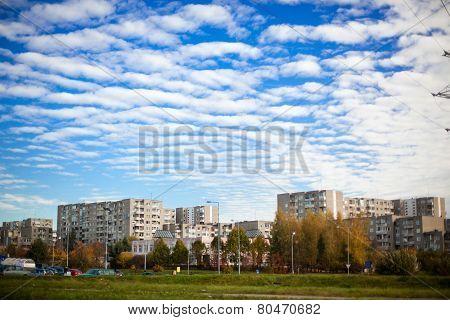 Fabijoniskes District In Vilnius