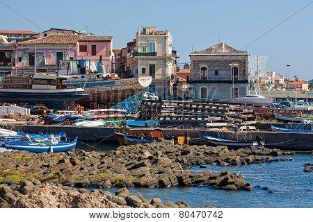 Port Of Aci Trezza