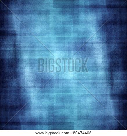Grunge Blue Texture Background