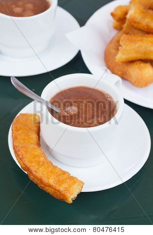 spanish pastry - churros