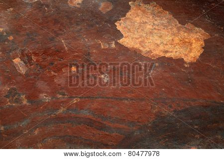 Red Slate Stone Textured Background