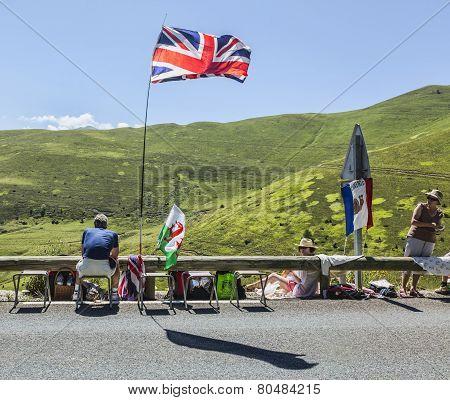Spectator Of Le Tour De France