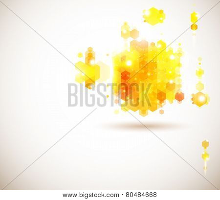 Bright and sunny page layout for your presentation.