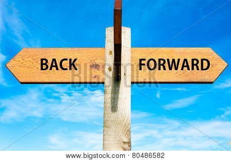 Back versus Forward messages