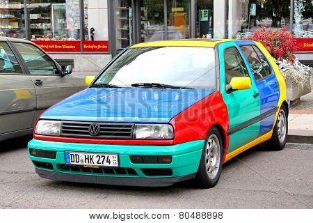 Volkswagen Golf Harlekin