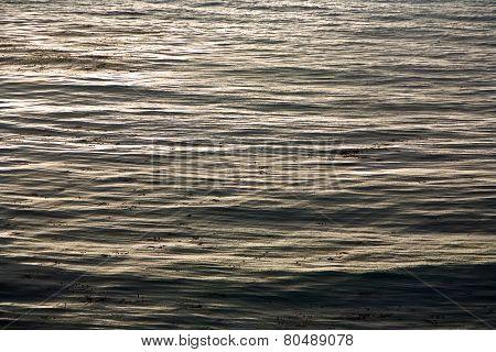 Ocean Pattern Near Gorda In California At No. 1