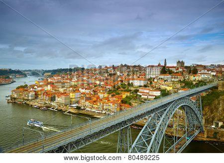 Historic center city of Porto, Portugal