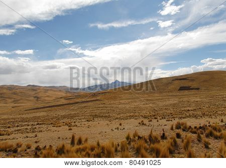 View Along The Cusco-puno Road, Peru