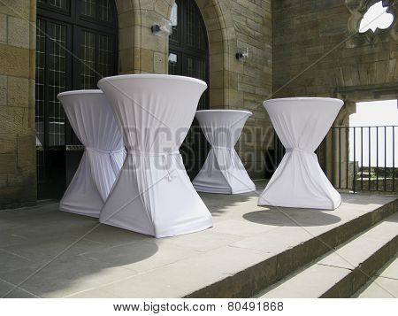 Table Covers Over Tables