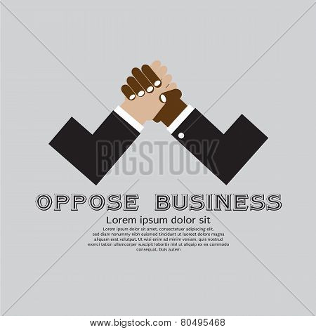 The Opposition of Business Conceptual.