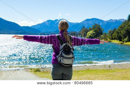 Traveller enjoy a great time in New Zealand
