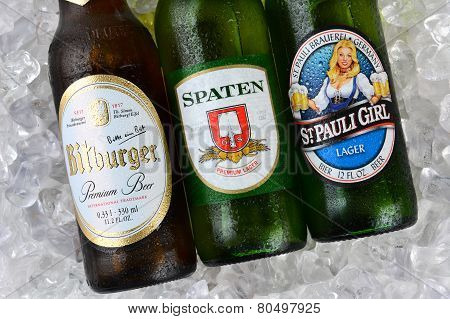 German Beers On Ice