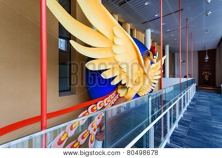 Phoenix - At Kyoto International Manga Museum