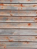 Weathered, Wooden Planks poster