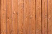 image of red siding  - Natural Wooden Slats Panel Brown Background or Texture - JPG
