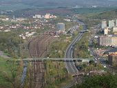 picture of bohemia  - transport infrastructure of the city - JPG