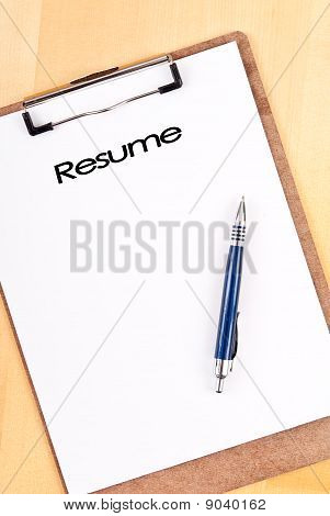 Planning Out Your Resume