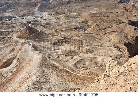 Masada, Judean  Desert, Israel