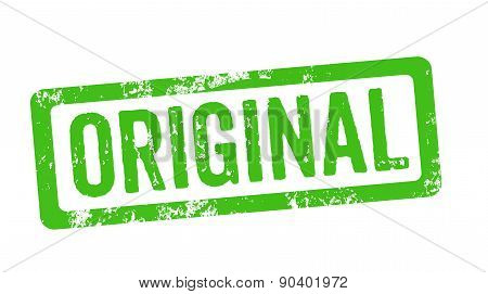 Green Stamp - Original