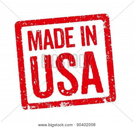 Red Stamp - Made In Usa