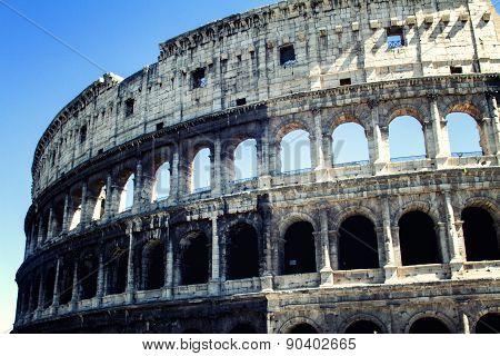 Colloseum At Rome