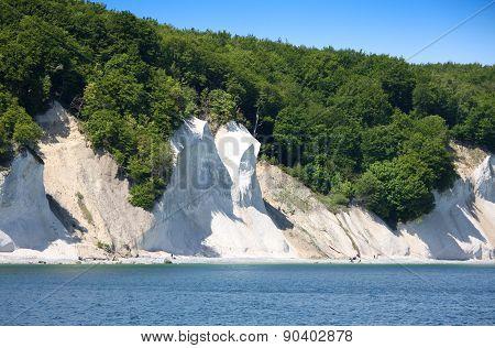 Chalk cliffs, Isle of Ruegen