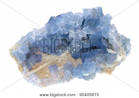 Fluorite - Blue Sky