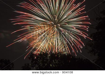 Triple Firework Burst
