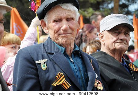 The Unknown Veteran On The Victory Day